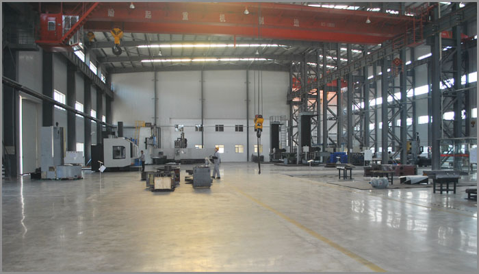 China Fullton Machinery, New Factory building