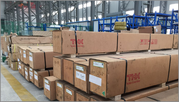 China Vertical Lathes Parts Warehouse